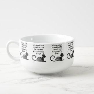 Mug À Soupe Presque toute la créativité implique le jeu utile