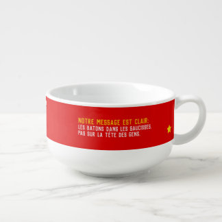 Mug À Soupe Tous égaux mais pas tous pogos dégelés Humour PQ