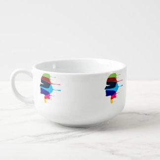 Mug À Soupe Visage créatif