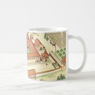 Mug Abbaye romane. Modèle