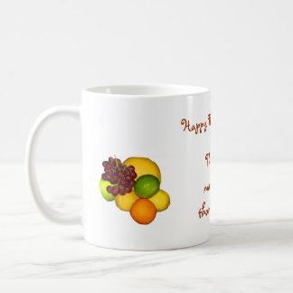 Mug Abondance de thanksgiving de fruit