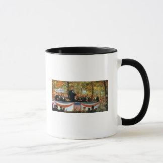 Mug Abraham Lincoln et Stephen A. Douglas