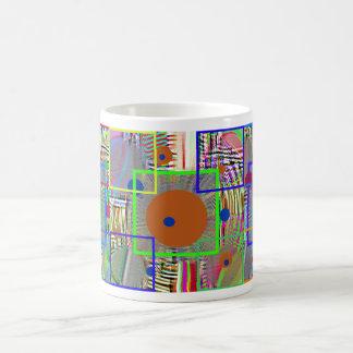 Mug Abrégé moderne :  Pays Digital, art populaire