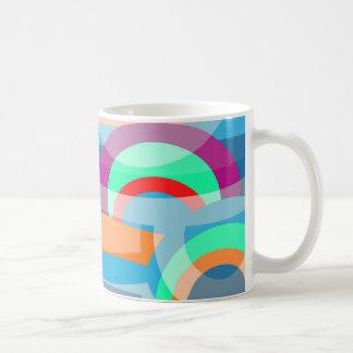 Mug Abstraction marine