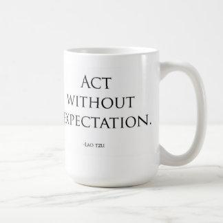 Mug Acte sans attente
