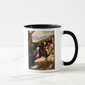 Mug Adoration des bergers, 1650