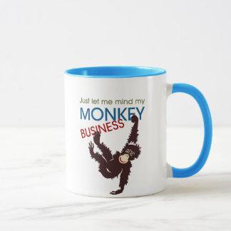 Mug Affaires de singe
