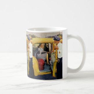 Mug Affaires vintages, passagère de femme de