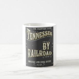 Mug Affiche vintage de chemin de fer du Tennessee