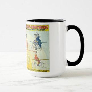 Mug Affiche vintage de cirque