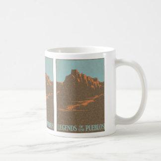 Mug Affiche vintage de voyage, Taos, Nouveau Mexique