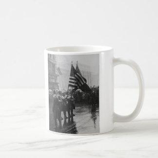 Mug Afro-américain d'infanterie de soldats de Buffalo