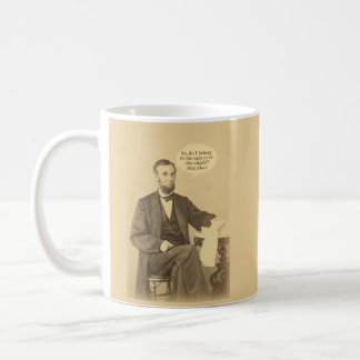 Mug Âges de Lincoln ou citation historique d'anges