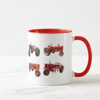 Mug Aimez ces vieux tracteurs rouges