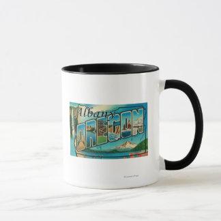Mug Albany, lettre ScenesAlbany d'OregonLarge, OU