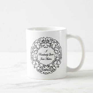 Mug Aléatoirement citation Jane Austen