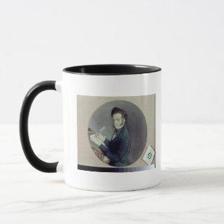Mug Alexandre Pushkin au travail, 1899