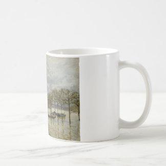 Mug Alfred Sisley - l'inondation sur la route