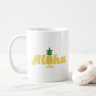 Mug Aloha café de Hawaïen de fierté