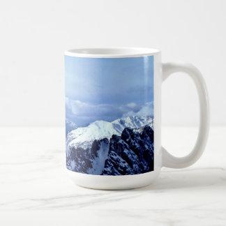 Mug Alpes autrichiens en hiver