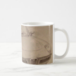 Mug Alpha - voiture de dessin d'art de CricketDiane