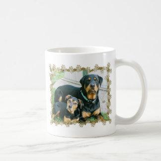 Mug Amant de rottweiler