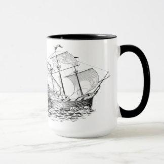 Mug Americana : Bateaux