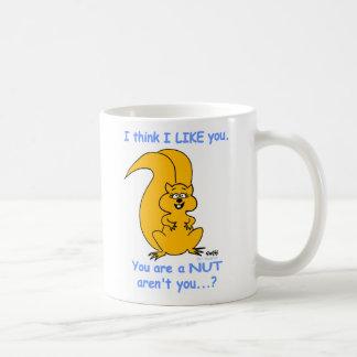Mug Amitié amicale heureuse mignonne d'écureuil de