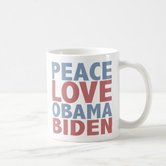 Mug Amour Barack Obama Joe Biden de paix
