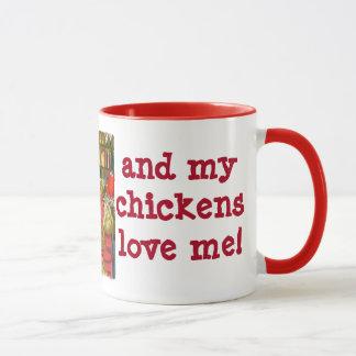 Mug Amour de poulet !