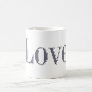 Mug Amour de style de denim