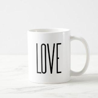 Mug Amour frais - conception graphique minimaliste