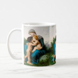 Mug Amour fraternel, mère avec des enfants par