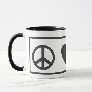 Mug Amour Fred de paix