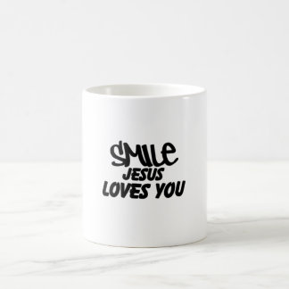 Mug Amours de Jésus de sourire que vous attaquez