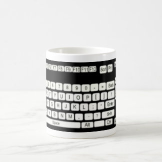Mug Amusement d'art de clavier d'ordinateur