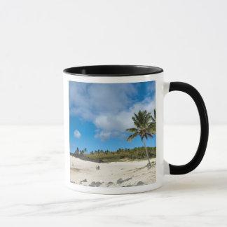 Mug Anakena, Rapa Nui, île de Pâques, Chili