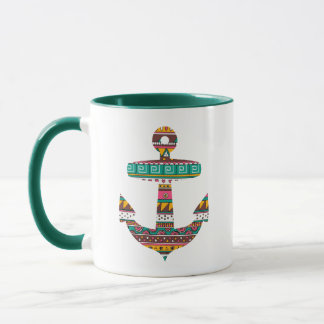Mug Ancre tribale