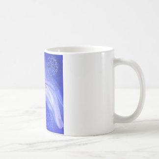 Mug Ange bleu de conscience de Cancer