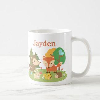 Mug Animal coloré mignon de région boisée pour des