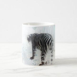 Mug Animal sauvage de tigre blanc