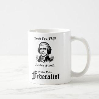 Mug Annonce d'attaque fédéraliste