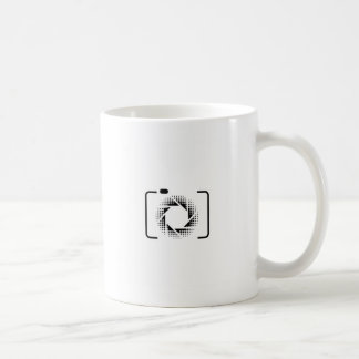Mug Appareil photo numérique avec une ouverture de