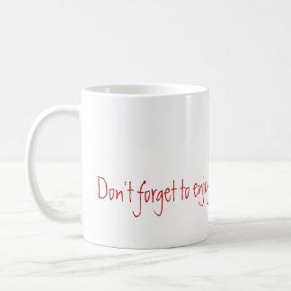 Mug Appréciez les fruits de votre travail
