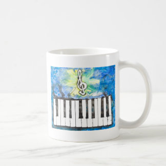 Mug Aquarelle de piano