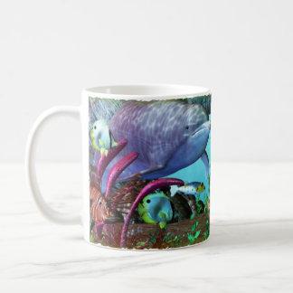 Mug Aquarium 3D de la découverte 2 de dauphin