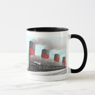 Mug Aquitania et train