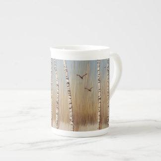 Mug Arbres de bouleau en hiver
