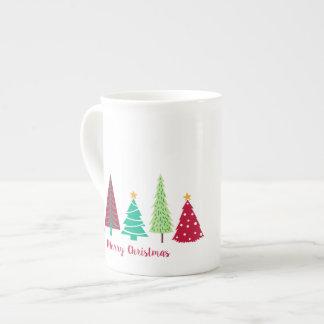 Mug Arbres de Noël modernes de tendances
