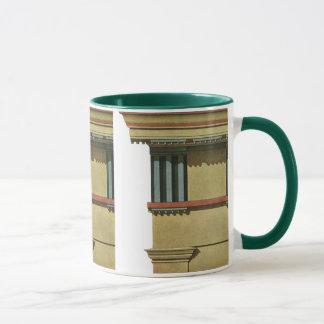 Mug Architecture classique vintage, Entablature de